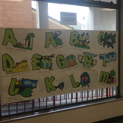 The Green Alphabet Project